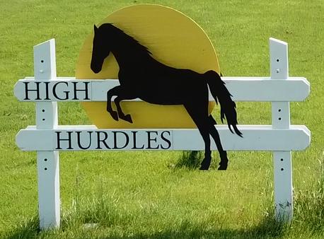 Image of High Hurdles Sign