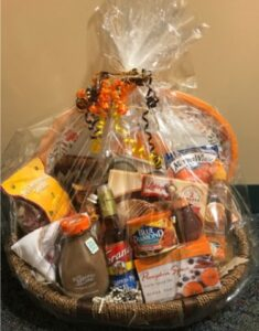 virtual basket raffle thankful giving