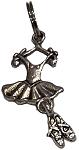 Dance Tutu & shoes charm
