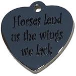 HORSES LEND US.... charm