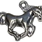 Horse running charm
