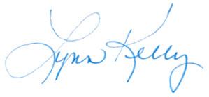 Lynn Kelly Signature