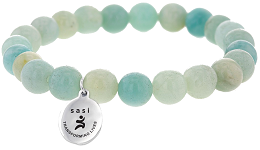 Embrace The Difference bracelet with sasi charm