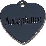 Acceptance Heart Charm