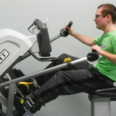 Image of individual working out at sasi's Personal Training Program